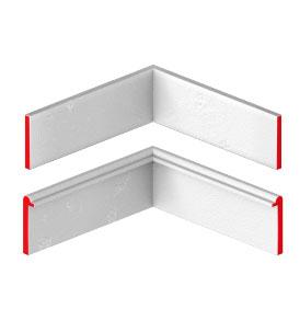 Решетки обрамляются со всех сторон плоской полосой, Т-образным или U-образным профилем. Т и U профиль используется при высоте несущей полосы 30мм.